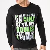 /achat-sweats-col-rond-crewneck/sweat-crewneck-guizmo-oinj-noir-vert-16468.html