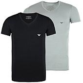 /achat-t-shirts/lot-de-2-tee-shirts-emporio-armani-v-neck-noir-gris-49367.html
