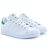 /achat-baskets-basses/adidas-baskets-femme-stan-smith-m20605-footwear-white-green-53484.html