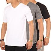 /achat-t-shirts/lot-de-3-tee-shirt-col-v-dickies-noir-gris-blanc-56577.html