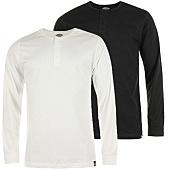 /achat-t-shirts-manches-longues/dickies-lot-de-2-tee-shirt-manches-longues-seibert-noir-blanc-58417.html