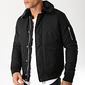 /achat-bombers/schott-nyc-bomber-col-fourrure-air-noir-58404.html