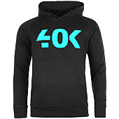 /achat-sweats-capuche/40k-sweat-capuche-classic-noir-turquoise-60154.html