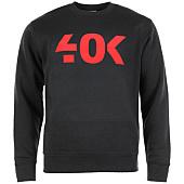 /achat-sweats-col-rond-crewneck/40k-sweat-crewneck-classic-noir-rouge-60155.html