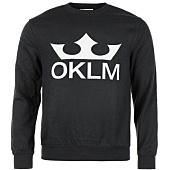 /achat-sweats-col-rond-crewneck/oklm-sweat-crewneck-big-logo-noir-typo-blanc-63525.html
