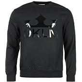 /achat-sweats-col-rond-crewneck/oklm-sweat-crewneck-big-logo-noir-typo-noir-63526.html