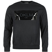 /achat-sweats-col-rond-crewneck/oklm-sweat-crewneck-small-crown-noir-typo-noir-63532.html