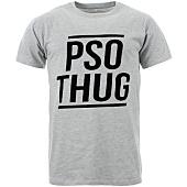/achat-t-shirts/pso-thug-tee-shirt-logo-classique-gris-chine-noir-65089.html