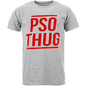 /achat-t-shirts/pso-thug-tee-shirt-logo-classique-gris-chine-rouge-65091.html