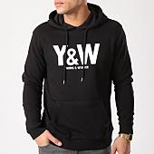 /achat-sweats-capuche/y-et-w-sweat-capuche-classic-logo-noir-65099.html
