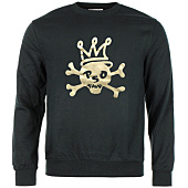 /achat-sweats-col-rond-crewneck/pso-thug-sweat-crewneck-skull-noir-or-66830.html
