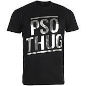 /achat-t-shirts/pso-thug-tee-shirt-logo-classique-noir-argent-66834.html