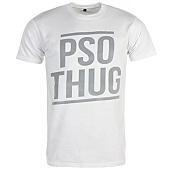 /achat-t-shirts/pso-thug-tee-shirt-logo-classique-blanc-gris-66866.html