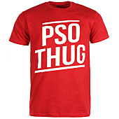/achat-t-shirts/pso-thug-tee-shirt-logo-classique-rouge-blanc-66867.html