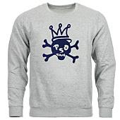/achat-sweats-col-rond-crewneck/pso-thug-sweat-crewneck-skull-gris-chine-bleu-marine-67596.html