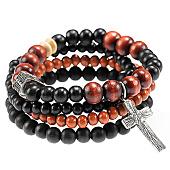 /achat-bracelets/icon-brand-lot-de-4-bracelets-try-combo-noir-68111.html