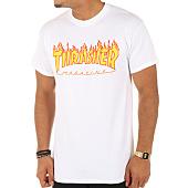 /achat-t-shirts/thrasher-tee-shirt-flame-blanc-75544.html