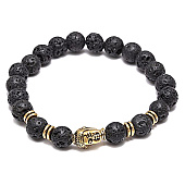 /achat-bracelets/california-jewels-bracelet-lava-stones-bouddha-noir-75717.html