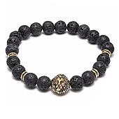 /achat-bracelets/california-jewels-bracelet-lava-stones-lion-noir-75719.html