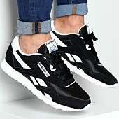 /achat-baskets-basses/reebok-baskets-classic-nylon-6604-black-white-77911.html