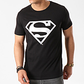 /achat-t-shirts/superman-tee-shirt-superman-logo-argent-noir-45207.html