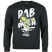 /achat-sweats-col-rond-crewneck/thug-n-swag-sweat-crewneck-dab-on-em-noir-85685.html
