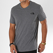 /achat-t-shirts/the-north-face-tee-shirt-simple-dome-gris-anthracite-87258.html