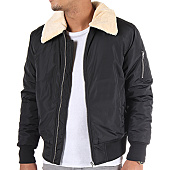 /achat-bombers/urban-classics-bomber-col-mouton-tb1465-noir-88537.html