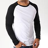 /achat-t-shirts-manches-longues/lbo-tee-shirt-manches-longues-raglan-35-1-noir-blanc-88652.html