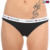 /achat-strings-culottes/tommy-hilfiger-culotte-femme-bikini-iconic-noir-91144.html