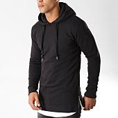 /achat-sweats-capuche/lbo-sweat-capuche-oversize-zip-73-noir-91489.html
