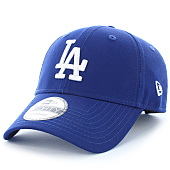 /achat-casquettes-de-baseball/new-era-casquette-league-essential-9forty-los-angeles-dodgers-bleu-marine-blanc-93565.html