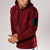 /achat-sweats-capuche/lbo-sweat-capuche-bomber-82-bordeaux-94762.html