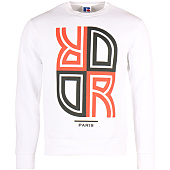 /achat-sweats-capuche/or-sweat-crewneck-reverse-blanc-rouge-95902.html