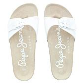 /achat-claquettes-sandales/pepe-jeans-sandales-femme-oban-pls90024-white-96828.html