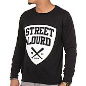 /achat-sweats-col-rond-crewneck/street-lourd-sweat-crewneck-emblem-noir-97897.html