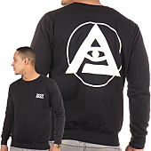 /achat-sweats-col-rond-crewneck/thug-n-swag-sweat-crewneck-back-logo-noir-101154.html
