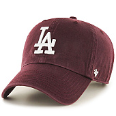 /achat-casquettes-de-baseball/47-brand-casquette-47-clean-up-los-angeles-dodgers-bordeaux-101518.html