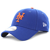 /achat-casquettes-de-baseball/new-era-casquette-the-league-mlb-new-york-mets-9-forty-bleu-roi-103231.html