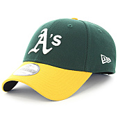 /achat-casquettes-de-baseball/new-era-casquette-the-league-mlb-oakland-athletics-9-forty-vert-jaune-103233.html