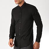 /achat-chemises-manches-longues/lbo-chemise-manches-longues-slim-fit-158-noir-103635.html