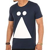 /achat-t-shirts/auzart-tee-shirt-logo-bleu-marine-103804.html