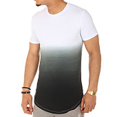 /achat-t-shirts-longs-oversize/john-h-tee-shirt-oversize-143-blanc-degrade-noir-103878.html