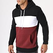 /achat-sweats-capuche/lbo-sweat-capuche-212-noir-blanc-bordeaux-104789.html