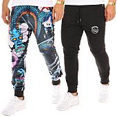 /achat-pantalons-joggings/y-et-w-pantalon-jogging-reversible-dragon-noir-bleu-marine-104903.html