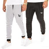 /achat-pantalons-joggings/y-et-w-pantalon-jogging-reversible-noir-gris-104905.html