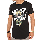 /achat-t-shirts-longs-oversize/thug-n-swag-tee-shirt-oversize-never-give-up-noir-105617.html