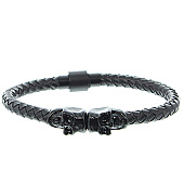 /achat-bracelets/california-jewels-bracelet-skull-braided-noir-105949.html