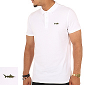 /achat-polos-manches-courtes/luxury-lovers-polo-manches-courtes-shark-blanc-106044.html