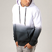 /achat-sweats-capuche/lbo-sweat-capuche-238-blanc-degrade-noir-107616.html